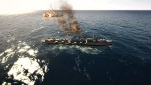 Captura de pantalla: Victory At Sea Pacific