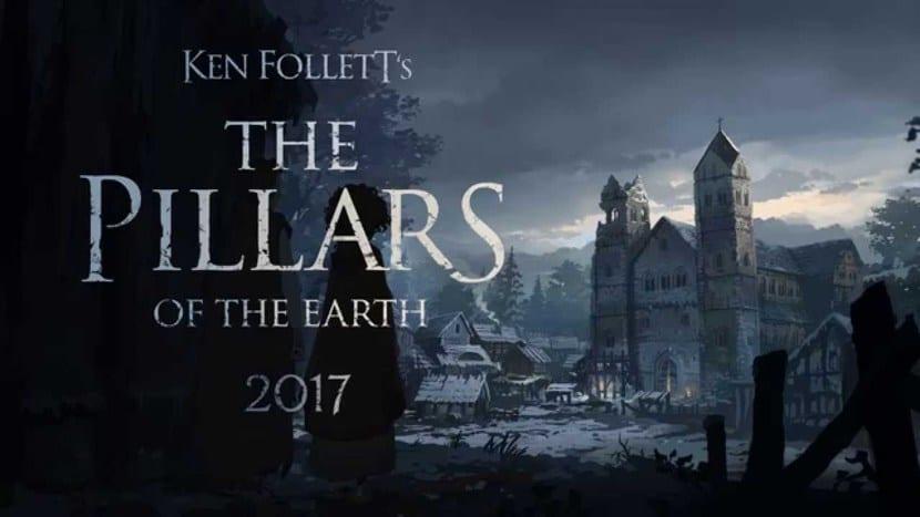 Portada videojuego Los pilares de la tierra