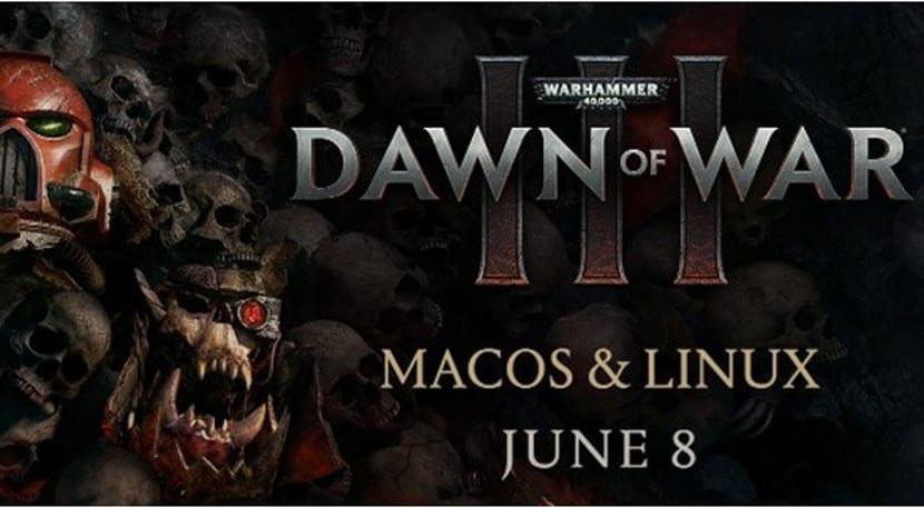 Imagen promocional de Warhammer 40.000 Dawn of War III