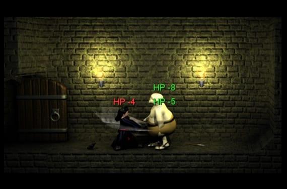 Wazhack pantalla del juego