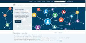 Página web de la ICANN