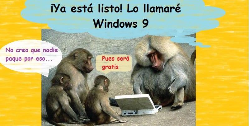 Caricatura satírica sobre Microsoft