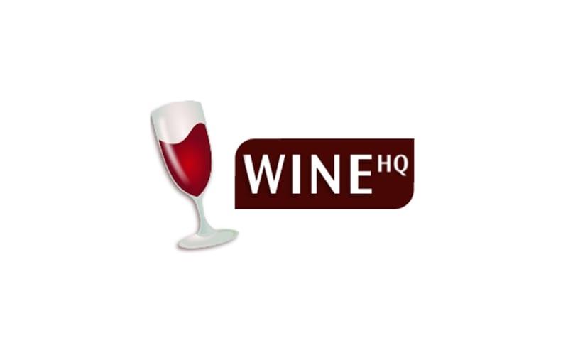 Logo de Wine HQ con copa de vino