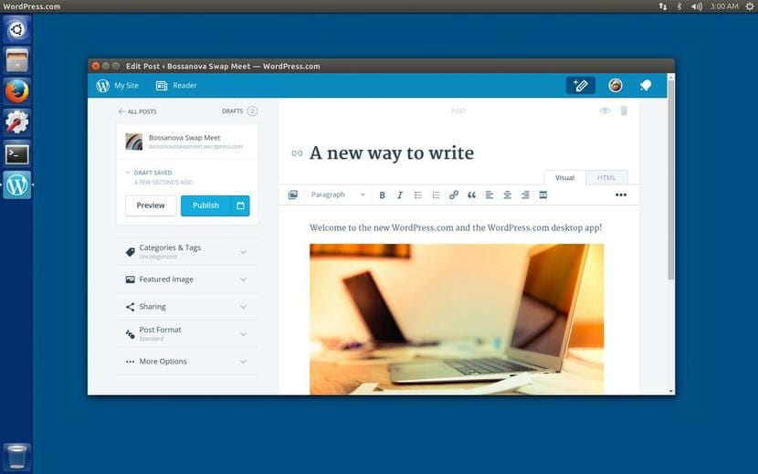 WordPress Desktop en Ubuntu