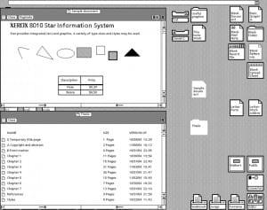Xerox GUI