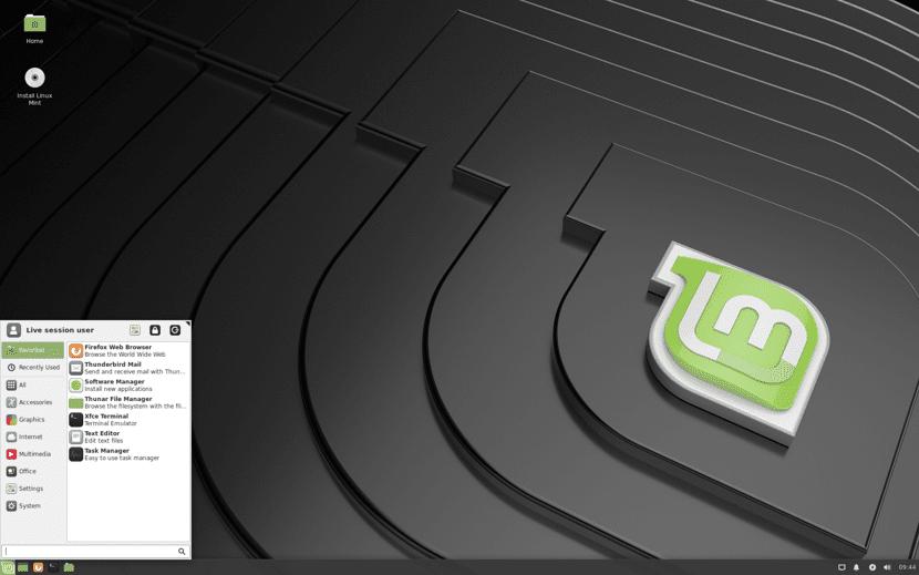 Linux Mint 19.2 xfce