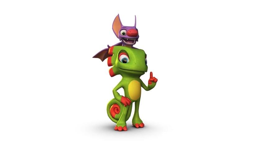 Yooka-Laylee personajes del juego