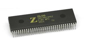 El procesador z80 de Zilog es uno de los componentes más fáciles de encontrar.