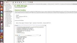 Captura creando una wiki en Zim